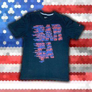 Nike International Mens T-Shirt Size M Cotton